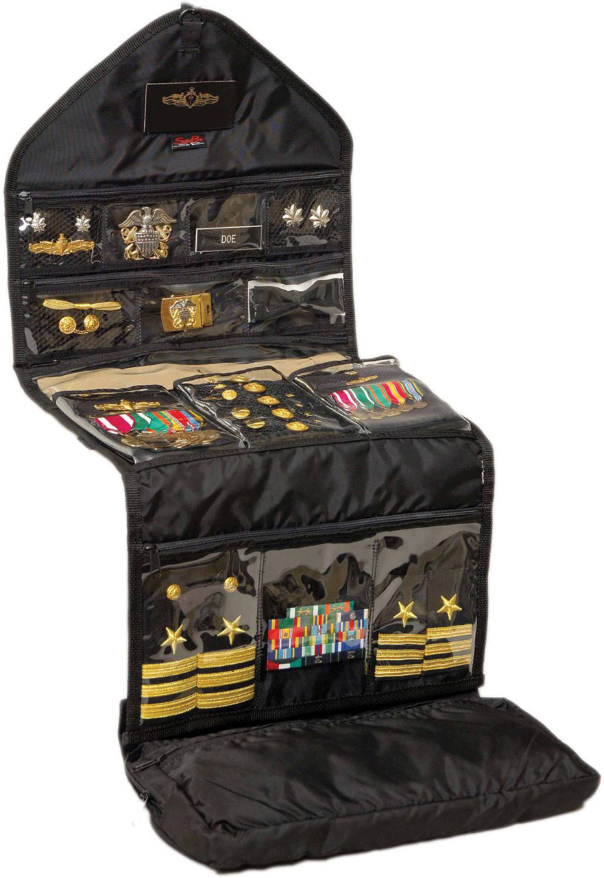To Store and Protect: Navy Veteran's ShadowBag Organizes Uniform Accessories