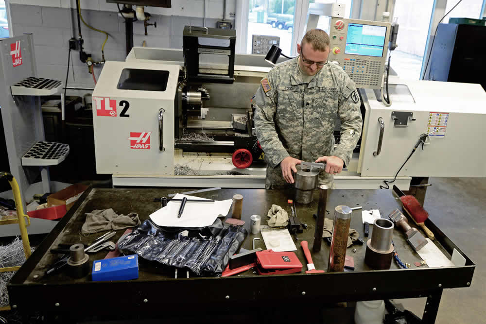 Army Salutes Soldier's Invention