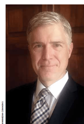 Examining Gorsuch's IP Record