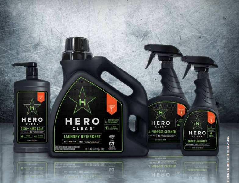 Hero Clean: From Concept to Retail Shelves