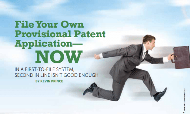 File Your Own Provisional Patent Application — NOW