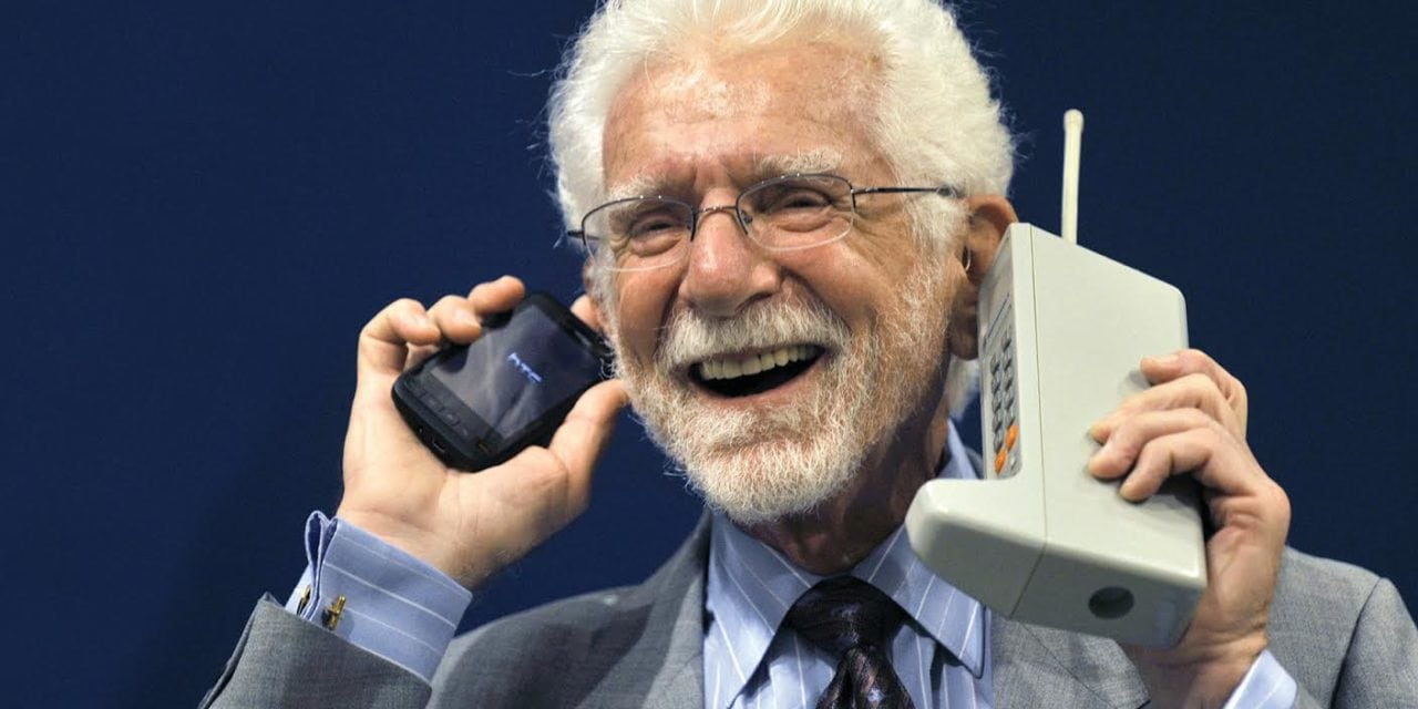 From the Maxwell Smart Phone to Today's Smartphone