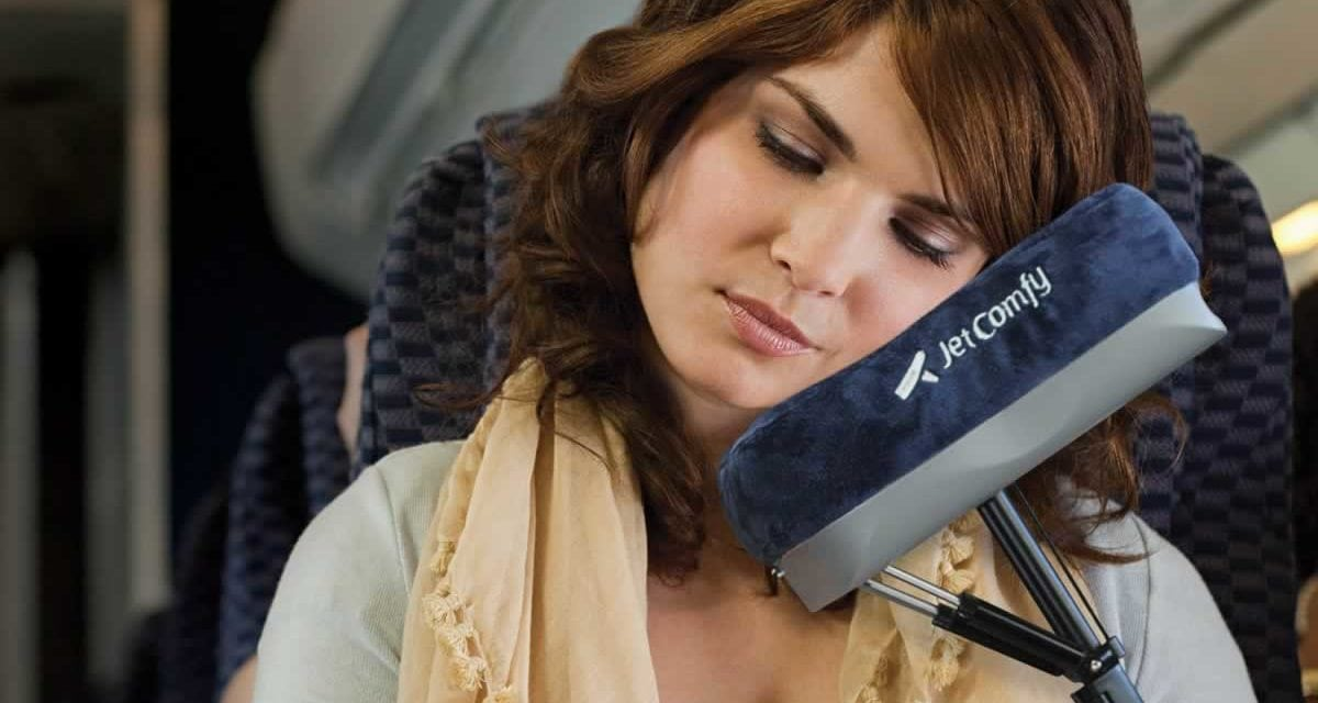 American Invention: Airplane Pillow Takes a Load Off