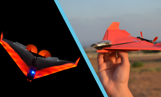 A Smartphone-Controlled Paper Airplane & More