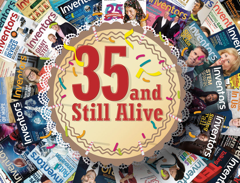 Celebrating 35 Years of Inventors Digest