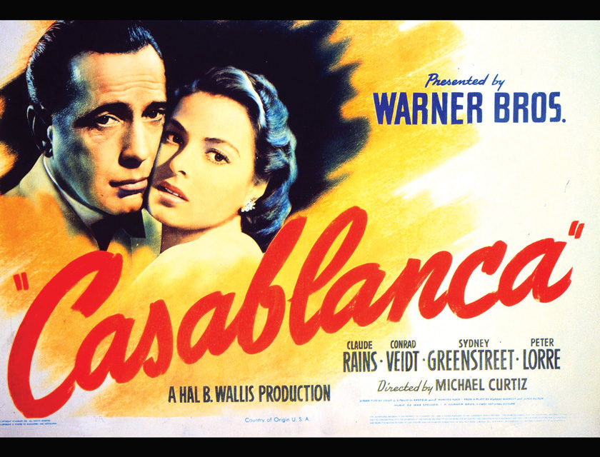 "When was the Movie ""Casablanca"" Copyrighted?"