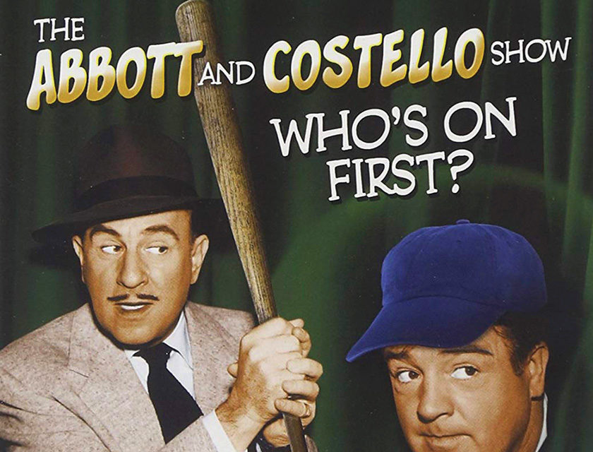 When Was Abbott and Costello's Iconic Baseball Routine Copyrighted?