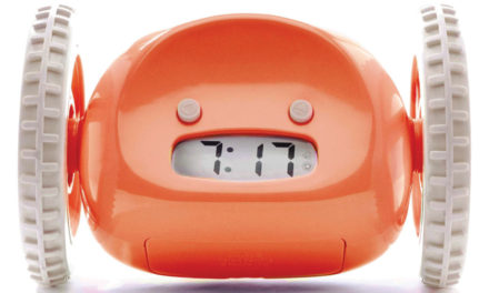 An Alarm Clock That Runs Away