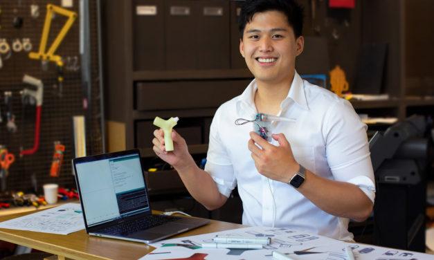 U.S. Dyson Award Honors Breath Glucometer Inventor