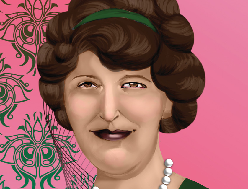 Your USPTO: Trading Card No. 21 Beulah Louise Henry